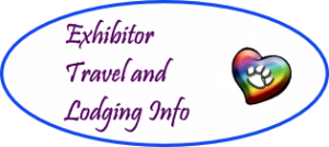 Travel and Lodging for Red Rose Inspiration for Animals Art Shows